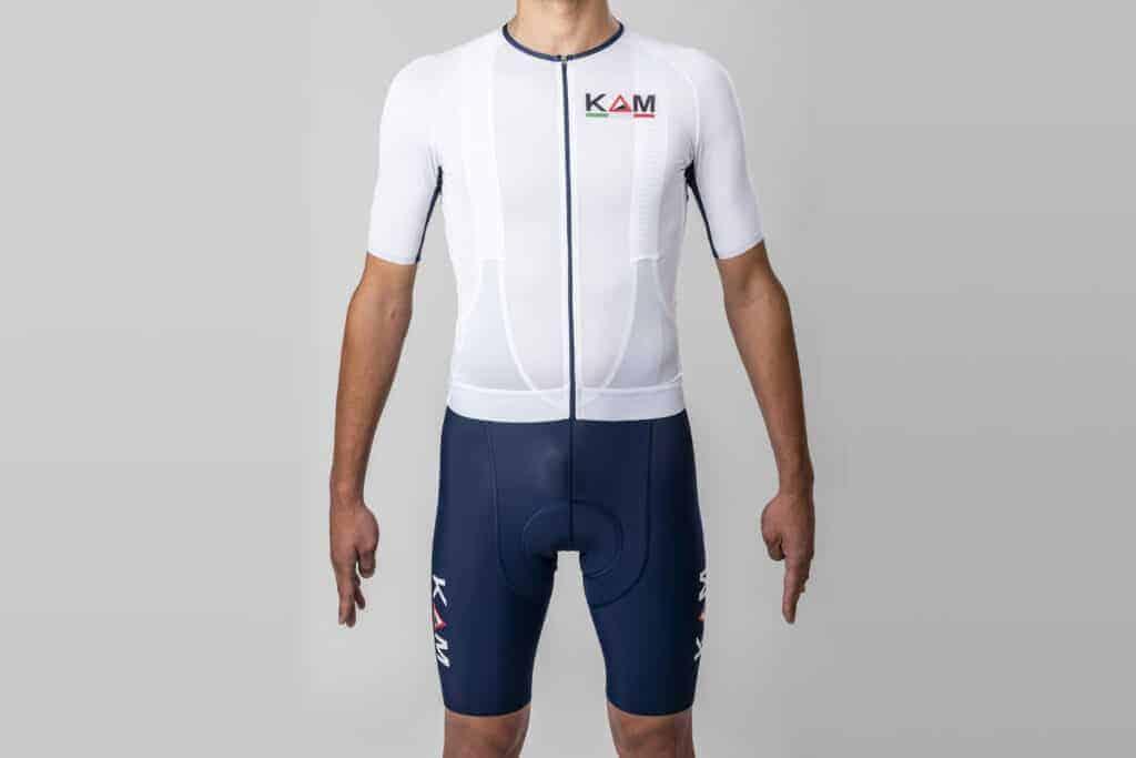 maglia ciclismo professionale blue Navy